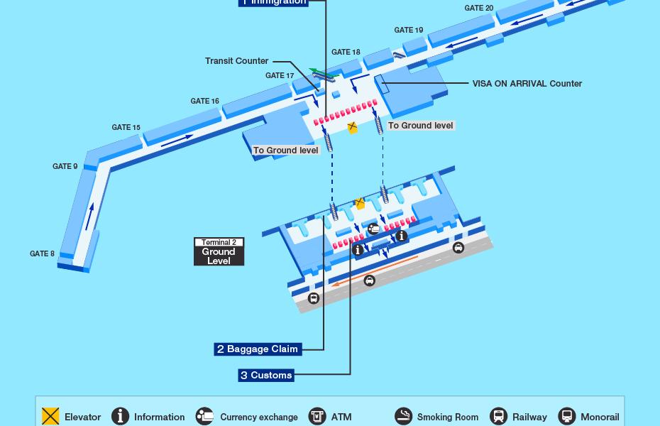 Arrival Terminal - Tan Son Nhat airport - T2