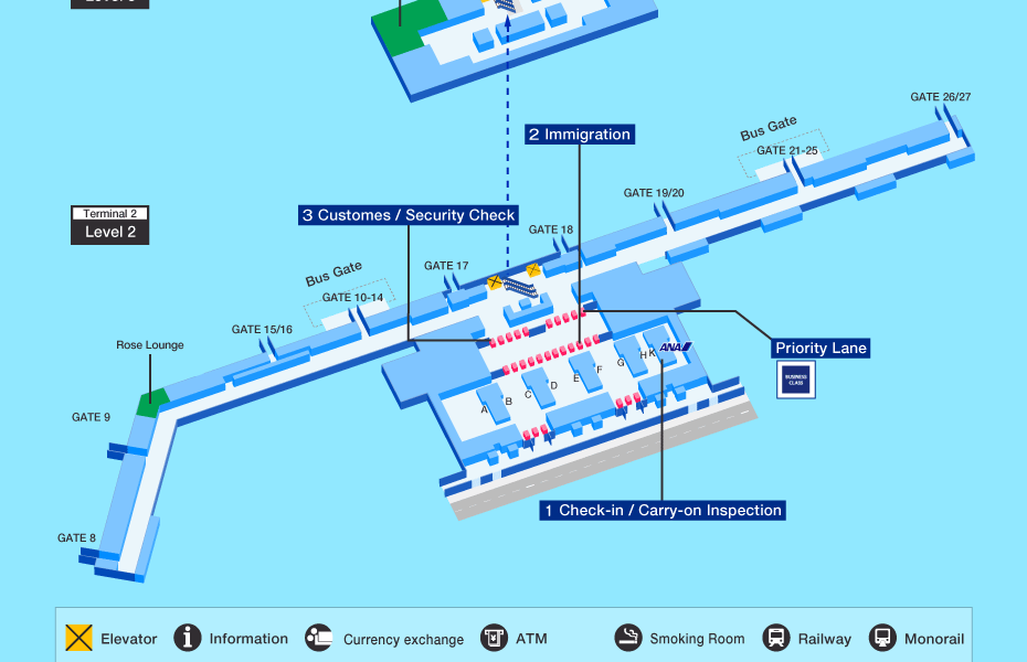 Departure terminal - Tan Son Nhat airport - T2